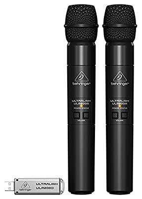 Behringer ULM202USB Wireless System with Handheld Microphone (Pack of 2) by Behringer