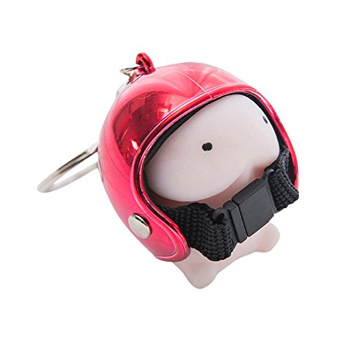 Covermason Penis Squishy Toys Slow Rising Spielzeug Jumbo Cute Stress Kombination Toys Helm Niedlich Schlüsselbund Drücken Stressabbauer Streich-Spielzeug (Rot)