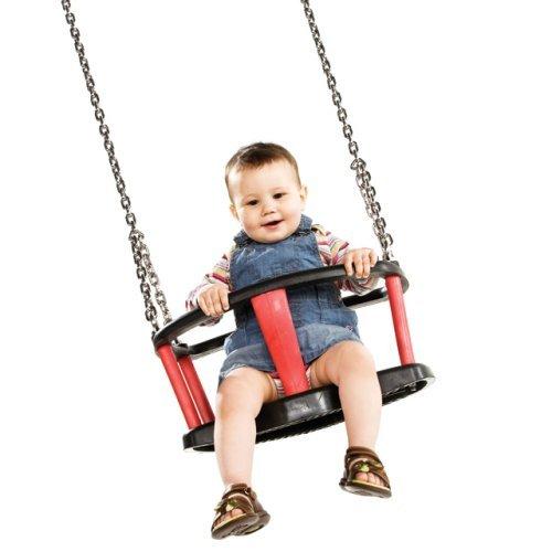 Preisvergleich Produktbild Babyschaukel forton DIN 1176 - Kette Edelstahl V2A 230 cm
