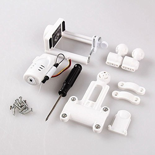 Amazingbuy - 1080p 2MP WiFi FPV Camera Update for SYMA X5C X5 X5C-1 X5SC X5SW X5HC X5HW RC Drone Quadcopter With Phone Holder Uncultivated Parts