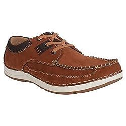 Action Shoes Nobility Men Premium Casual Shoes C-35-3008-Brown