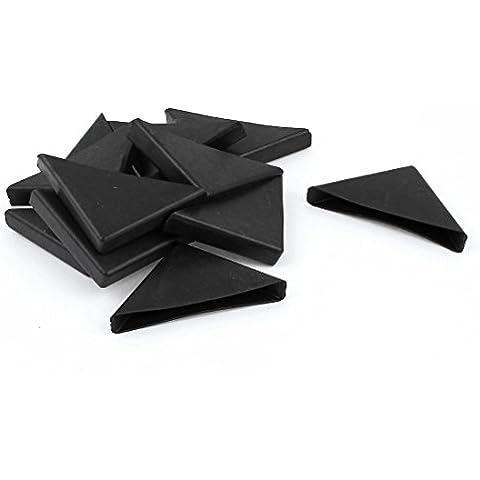 sourcingmap® 12 Pz A Forma Di Triangolo Tavolo In Vetro Angolo Cuscino Protezione 10mm x 75mm