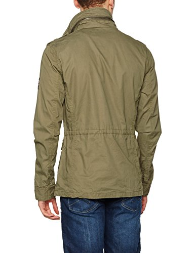 Superdry Rookie Military, Cape Homme Verde (Duty Green)