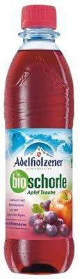 Adelholzener BIO Apfel-Traube, 18er Pack (18 x 500 ml)