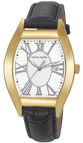 Pierre Cardin Men's Quartz Watch PC104531F05 PC104531F05 with Leather Strap