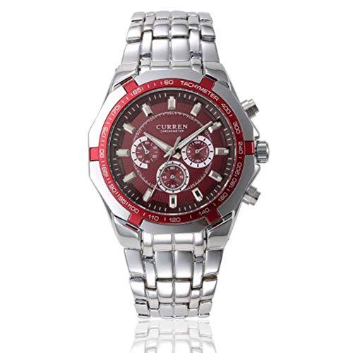 xisnhis schöne Uhren curren8084 männer voller Stahl Quarz - Uhr