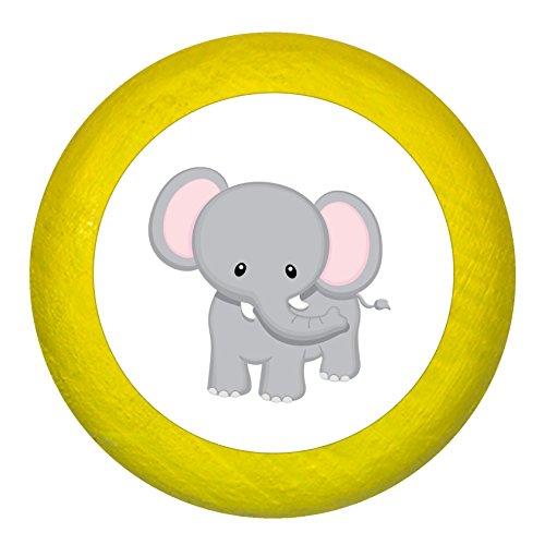 Traum Kind Kommodengriff Möbelknopf Möbelknauf Möbelgriff Massivholz Buche - Kinder Kinderzimmer wilde Tiere Zootiere Dschungeltiere