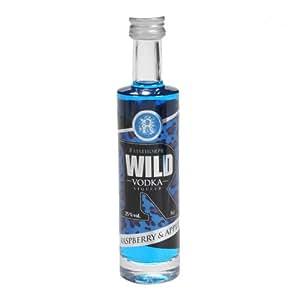 WILD Raspberry & Apple Vodka Liqueur 5cl Miniature