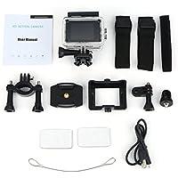 Action Camera Sports CAM Full HD 1080P 30m Waterproof Pantalla LCD DE 2.0 Pulgadas Mini Sports DV Videocámara con Accesorios para Cámara