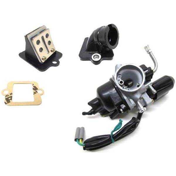 17 5mm Phva Phvn Tuning Vergaser Set Ansaugstutzen Membranblock Für Piaggio Sfera Tph Nrg Zip Gilera Runner Derbi Vespa Et2 Lx 50 Auto