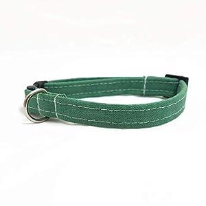 Katzenhalsband – Oliv-Grün