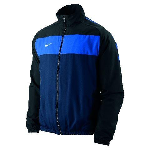 Nike Herren Sweatshirt Air Pivot V3SS Hoody L Grau/Schwarz (DK Grey Heather/Black) (Hoody König)
