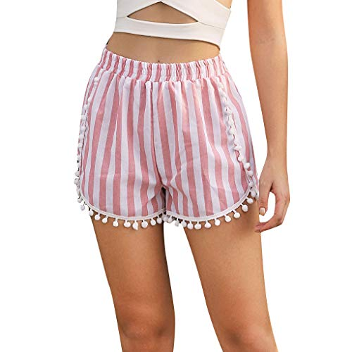Frauen reizvolle heiße Hosen Sommer beiläufige Kurzschluss hohe Taillen kurze Hosen Rosa L/s Camo