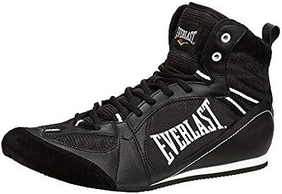 Everlast 8002 - Botas bajas de boxeo unisex, color negro