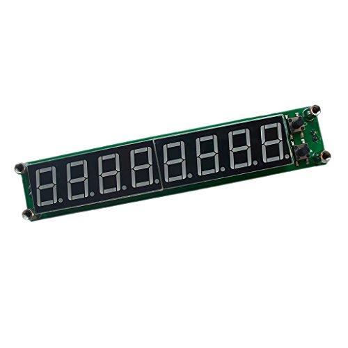 Preisvergleich Produktbild Gazechimp 0.1mhz-1000mhz 8 Led digitalen Frequenzmesser mit LED Display Frequency Monitor Tester Verkleidungs Messinstrument - blau