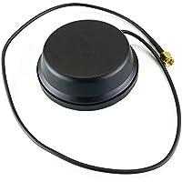 Cablematic - Antena LTE 4G GSM UMTS GPRS WIFI con conector SMA 4.0dBi magnética
