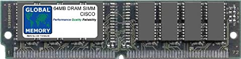 64MB DRAM SIMM ARBEITSSPEICHER RAM FÜR CISCO MC3810 / MC3810-V / MC3810-V3 ROUTERN (MEM-381-1X64D)