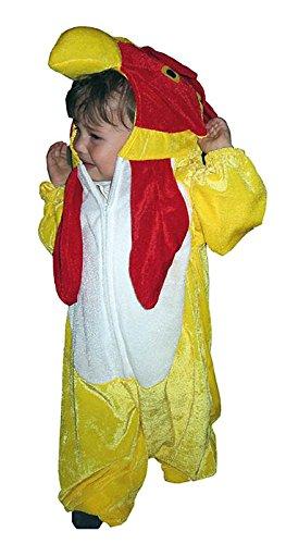Karnavale gefüllte Baby-Huhn-Kostüm 1-2 Jahre