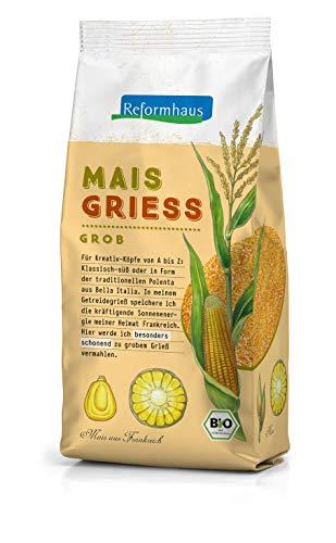 Reformhaus Maisgrieß, grob Kukuruz Bio, 500 g