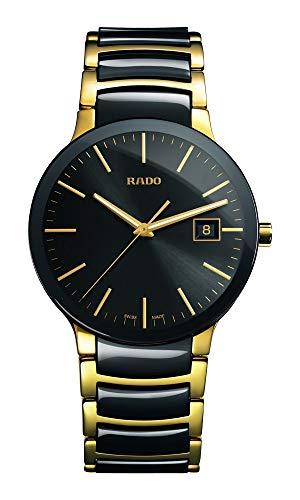 Rado Integral R20968152 - Orologio da uomo bicolore in ceramica nera e oro