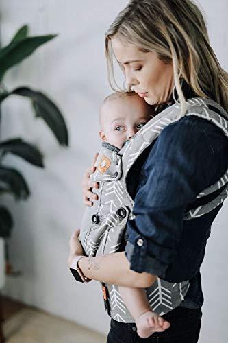 Baby Tula Explore - COAST ARCHER - Marsupio regolabile per neonati e bambini, ergonomico, varie posizioni per 3,2-20,4 kg