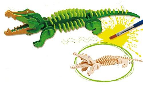 puzzle-3d-crocodile-33x9x7-58-pcs-avec-detrempes