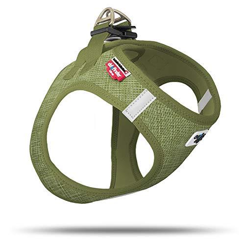 Curli Vest Geschirr Air-Mesh Linen Olive Special Edition SE19 SE-OLI Größe XL von mylittledog