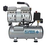 HYUNDAI Silent Kompressor SAC55751 (tragbarer Druckluftkompressor, ÖLFREI, Flüsterkompressor mit 59 dB(A), 6...