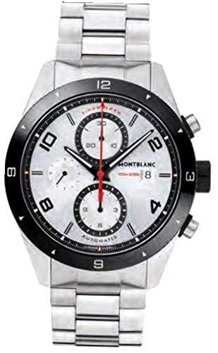 Montblanc Reloj Analógico para Hombre de Cuarzo con Correa en Acero Inoxidable 116099