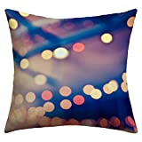 TEPEED Mika Home Jacquard Throw Pillow Cases 1818inch(Pretty Lights) IL:387