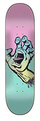 Santa Cruz Skate Pastell Screaming Hand 19,7x 79,8cm Skateboard Deck