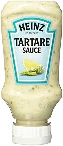 Heinz Tartare Sauce, Kopfsteher Squeezeflasche, 220 ml
