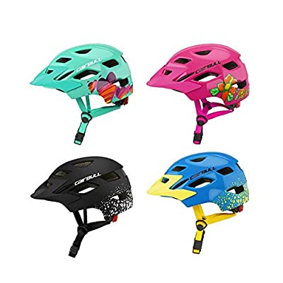 poetryer Kids Childs Childrens Skate Helmet Boys Girls Cycling Helmet Ideal For Skateboard Bike BMX And Stunt Scooter Age 3-8 Years from poetryer