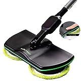 Super Maid 2018, cordless elettrico spinning mop, alimentato a batteria, spazzola per lucidatrice mop, palmare aspirapolvere per pavimenti e tappeti per piastrelle Sweeper Bysuper cameriera
