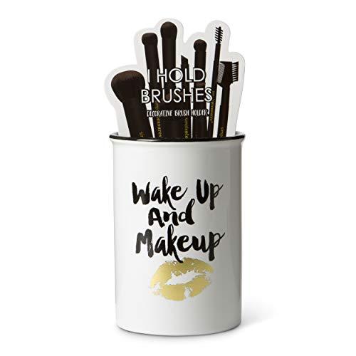 Tri-coastal Design Porta pinceles maquillaje contenedor