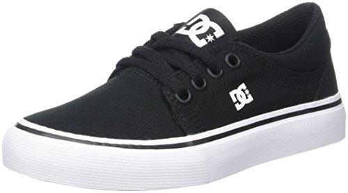 DC Shoes ADBS300251, Scarpe da Ginnastica Bambino Multicolore (Black/White)