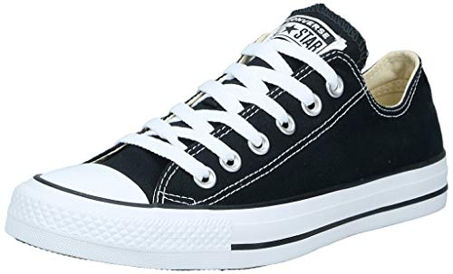 CONVERSE Chuck Taylor All Star Seasonal Ox, Unisex-Erwachsene Sneakers, Schwarz (Black/White), 38 EU