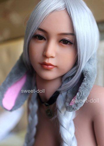165cm Sexpuppe Lebensechte Liebe puppe TPE SexDoll Love Doll Metallskelett Riesige Brust,3 Öffnungen Liebespuppe für Männer Abby