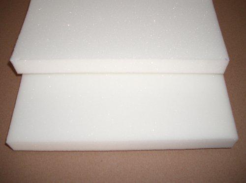 Merino Europa 2er Set Schaumstoffauflage (100% PU RG32) für Bierbank 220x25x2 cm