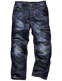Scruffs Pantalon de travail en jean - Ceinture et genouillères gratuites