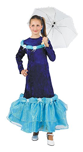 Imagen de disfraz barbie azul niña  único, 7 a 9 años
