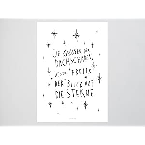 Kunstdruck Poster / Dachschaden