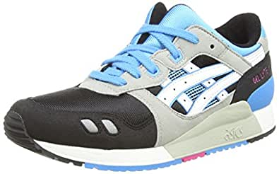 ASICS Gel-Lyte III Gs, Chaussures Multisport Outdoor Enfant - Noir (Black/Light Grey 9013),  36 EU