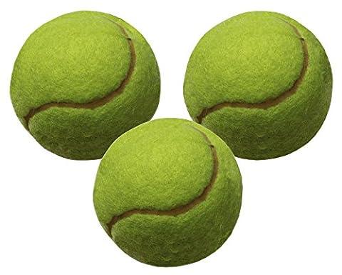 Idena 40067 - Tennisball Klasse A, 3er Set