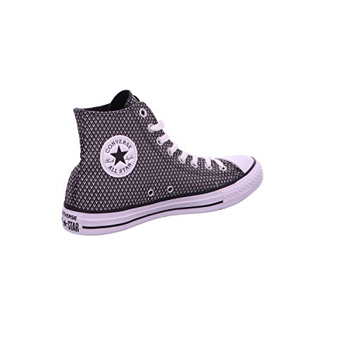Converse All Star Hi Donna Sneaker Bianco nero