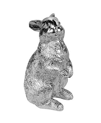 KLP Hase Oster Hasen Kaninchen Deko Garten Figur Dekohase Skulptur Statue Artikel