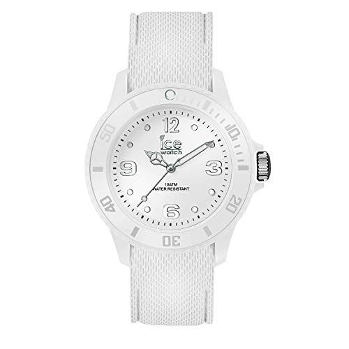 Ice-Watch - Ice Sixty Nine White - Weiße Damenuhr mit Silikonarmband - 014577 (Small)