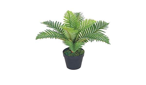 Amazon.de: Decovego Palme Palmfarn Kunstpflanze Plastik Künstliche ...