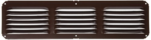 Lomanco C416BR 16-Inch X 4-Inch Brown Undereave Vent by Lomanco -