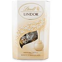 Lindt Lindor Trufas de chocolate blanco 200g